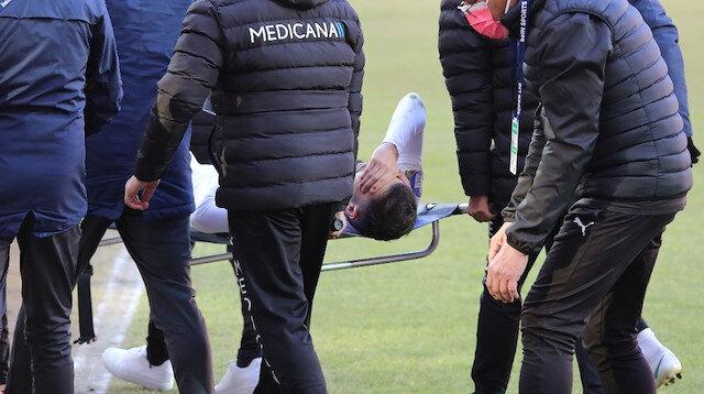 Hataysporlu futbolcu 7 ay sahalardan uzak kalacak