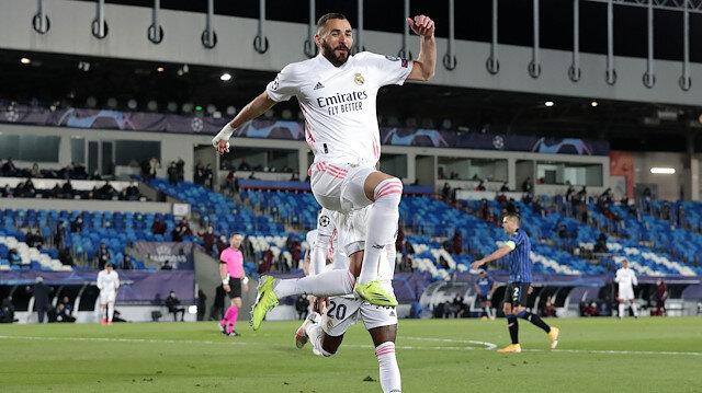 Benzema tarihe geçti: Real Madrid Şampiyonlar Ligi'nde çeyrek finale yükseldi (ÖZET)