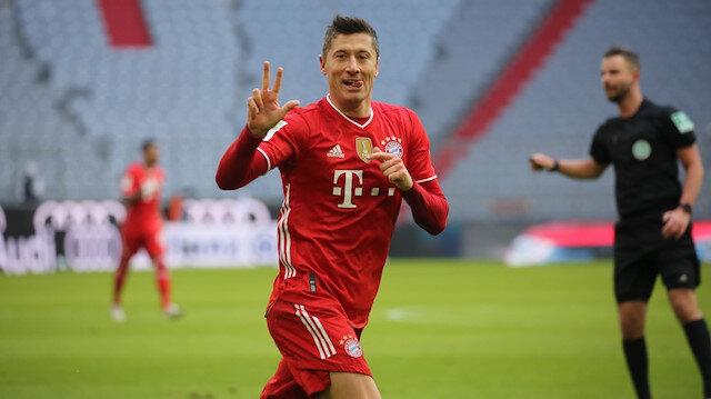 Lewandowski hat-trick yaptı: Bayern Münih, Stuttgart'ı farklı geçti (ÖZET)