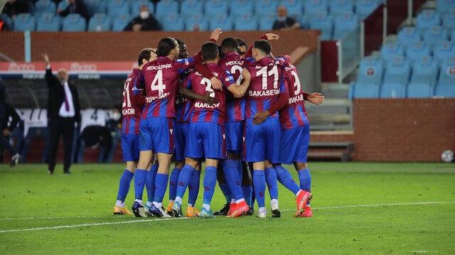 Trabzonspor'un zirve takibi devam ediyor