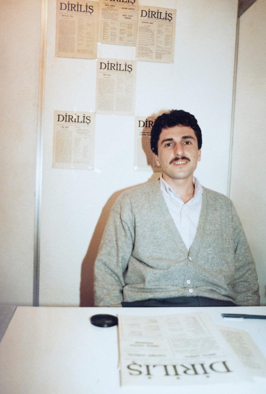 Mustafa Kirenci'nin Diriliş'te çalıştığı yıllar.
