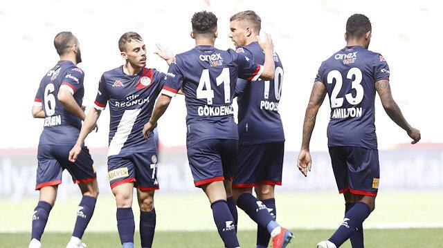 Antalyaspor geriden gelip Erzurumspor'u yendi