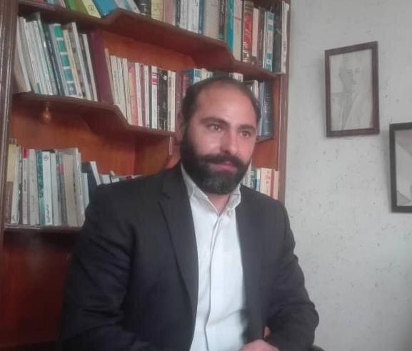 """""""Rejim karşıtı örgüt kurma ve sosyal medya gruplarına üye olma"""" gerekçesiyle 10 yıl hapis cezası alan Muhtar İbrahimi."""