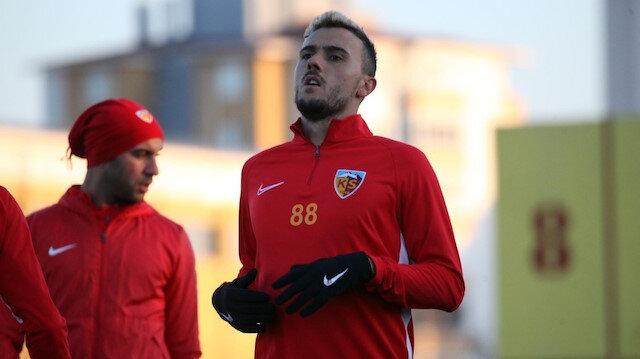 Kayserisporlu futbolcu Campanharo sezonu kapattı