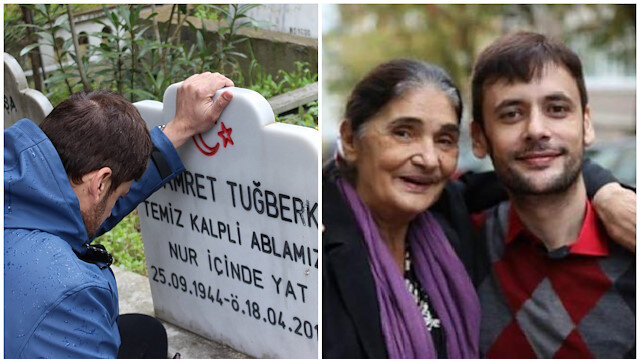 Hamret Tugberk only spent 12 years with her son before she passed away in April 2019 from lung cancer.