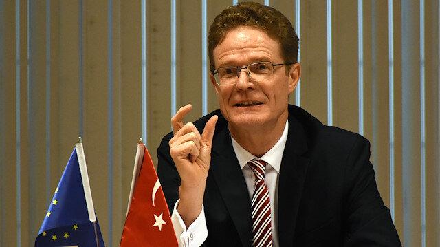 Nikolaus Meyer-Landrut, head of the EU Delegation to Turkey