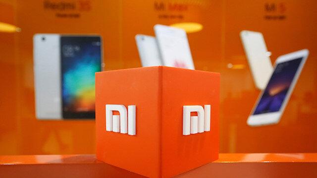The logo of Xiaomi