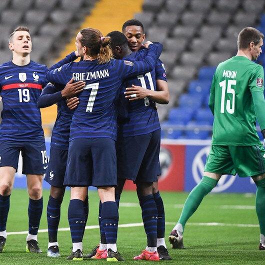 قدم.. فرنسا تعوض تعثرها الأول وتتغلب على كازاخستان