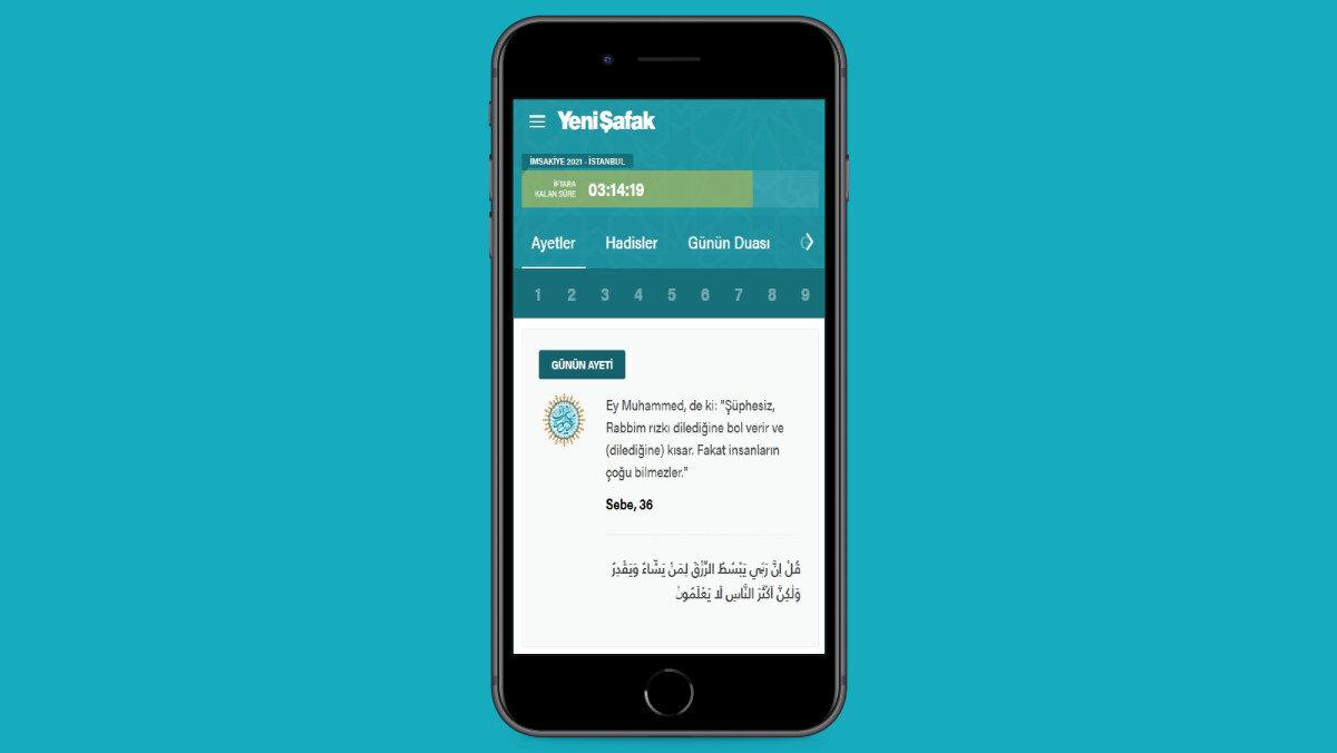 2021 Ramazan: Ayetler - Yeni Şafak