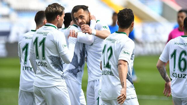 Konyaspor, Erzurum deplasmanında kazandı