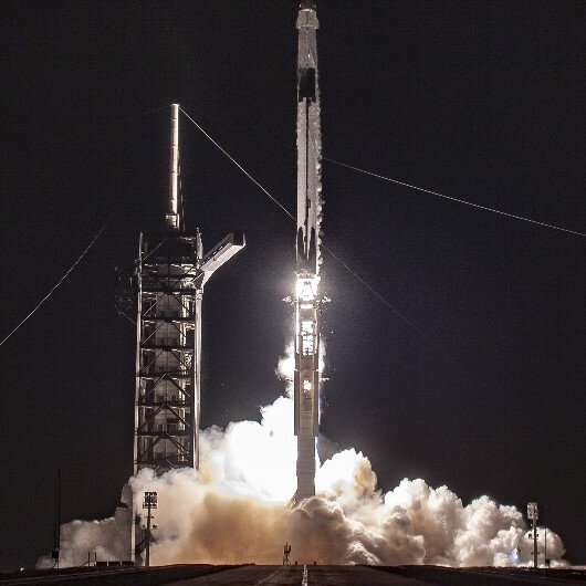 SpaceX rocket test flight ends with explosion