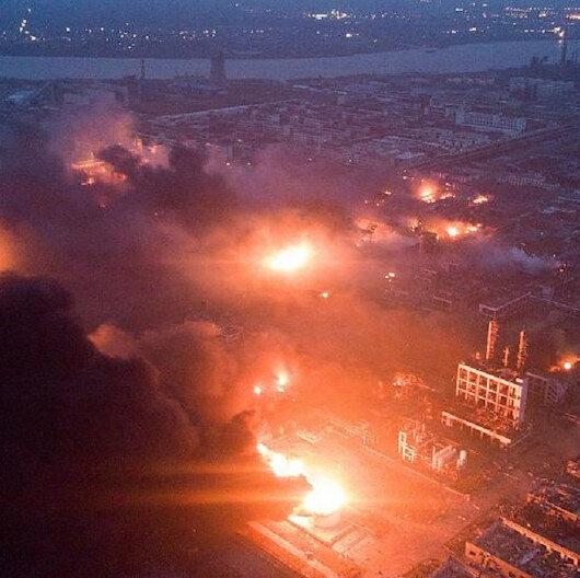 مصرع 6 أشخاص في انفجار بمصنع شرقي الصين