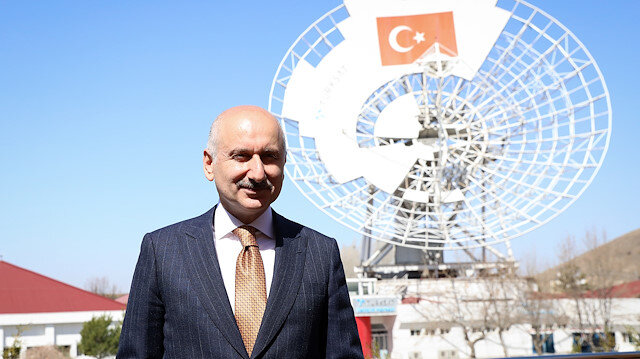 Turkish Transport and Infrastructure Minister Adil Karaismailoglu