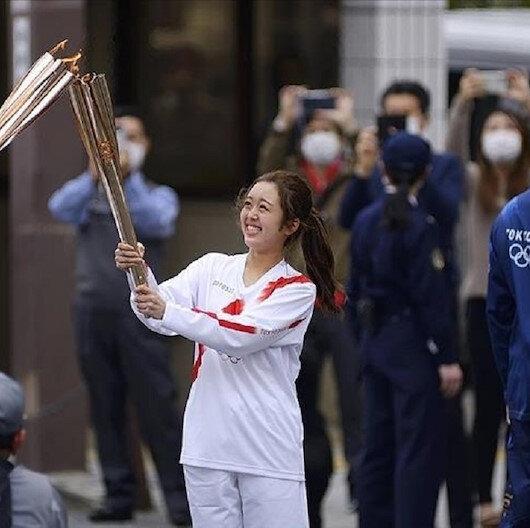 اليابان تلغي جولة الشعلة الأولمبية في أوساكا بسبب كورونا
