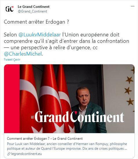 مجلة لو جراند كونتينينت الفرنسية
