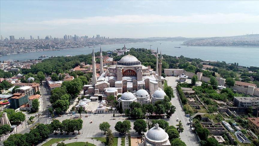 Ayasofya Camii.