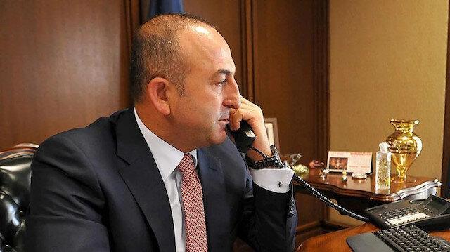 تشاووش أوغلو يهاتف وزير خارجية الأوروغواي