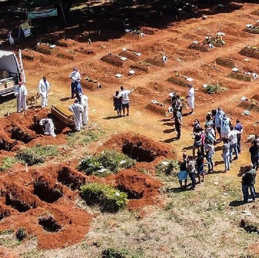 كورونا..4249 وفاة جديدة بالبرازيل خلال 24 ساعة