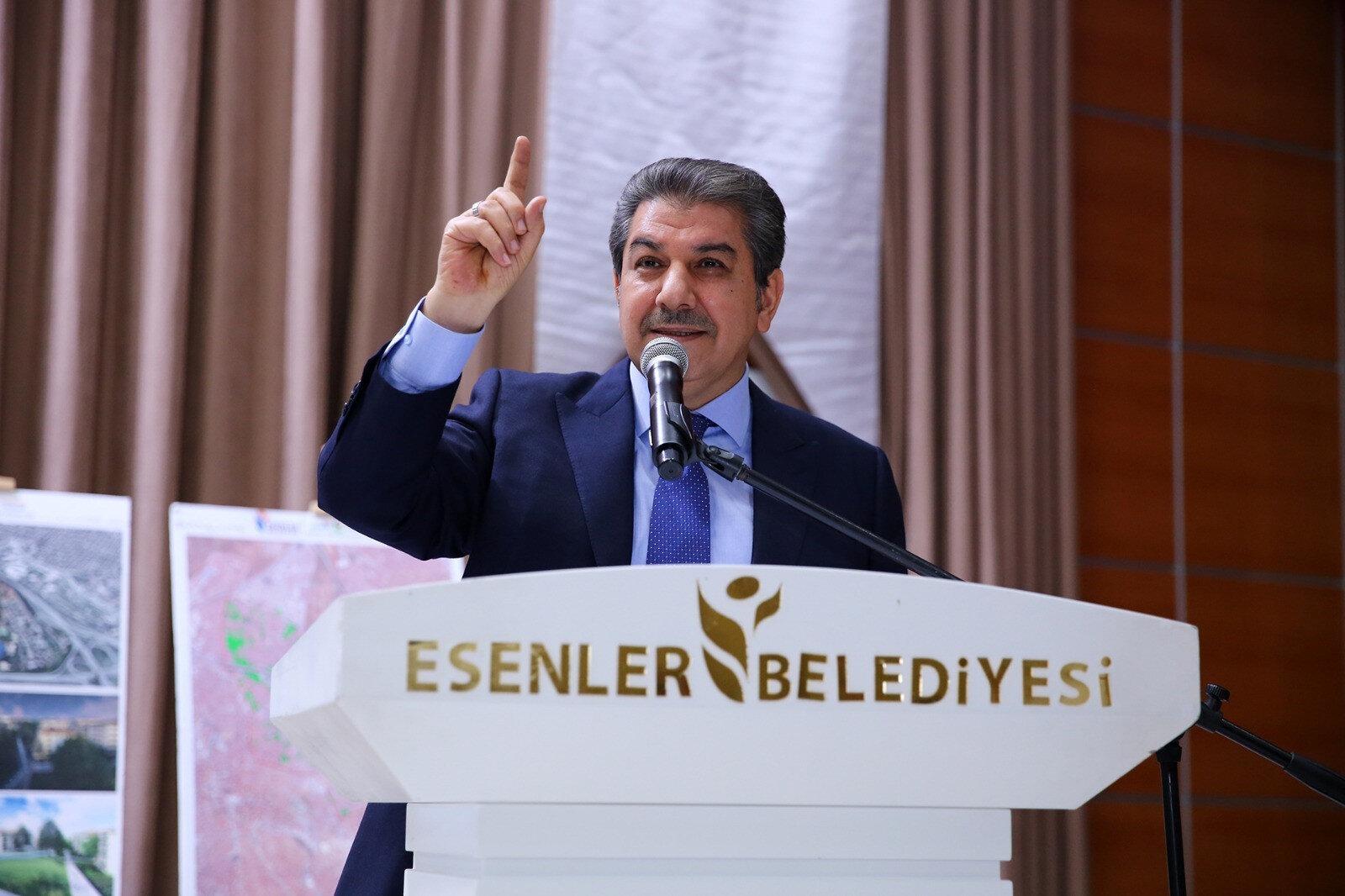 Esenler Belediye Başkanı M. Tevfik Göksu.
