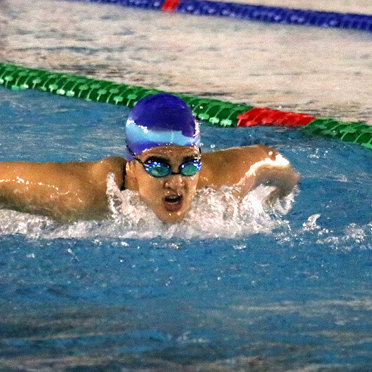 Azerbaijani swimmers hold training camp in Turkey