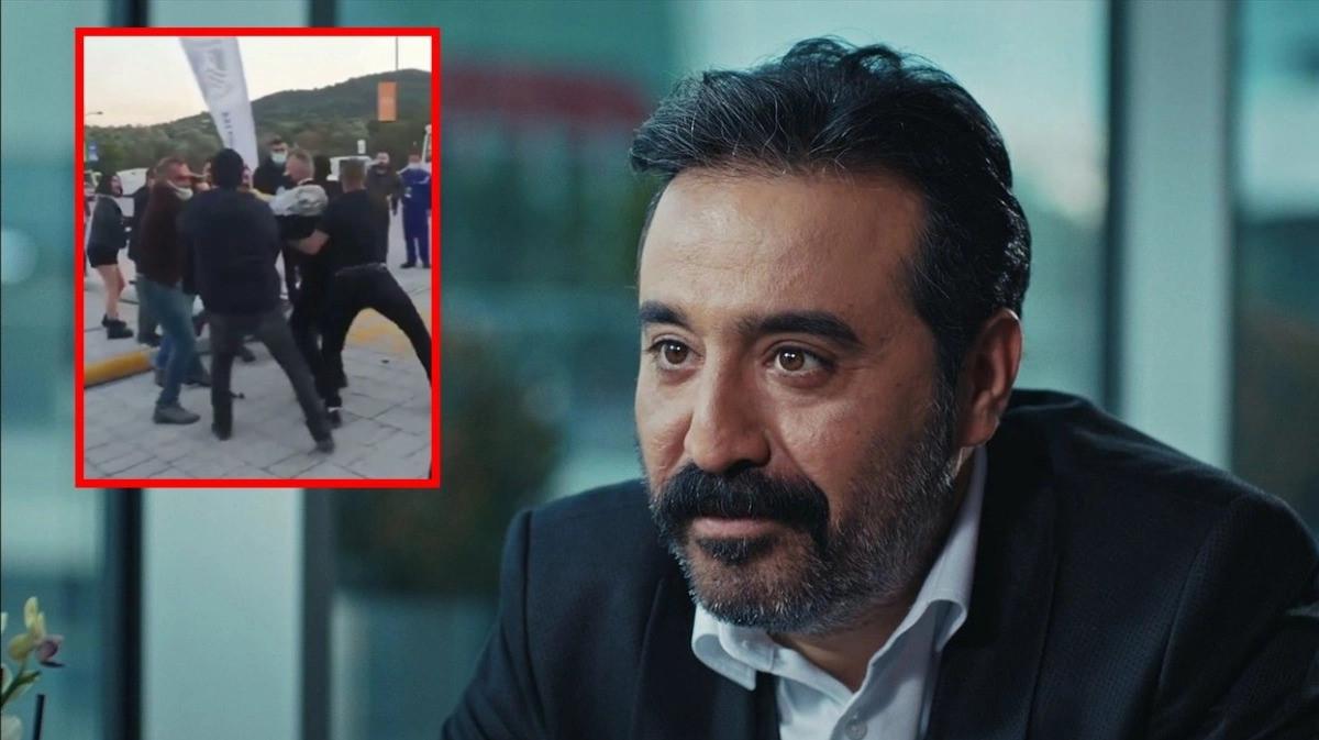 Muğla-Bodrum'da oyuncu Üstündağ ralli yarışları sonrası heyetle kavga etti