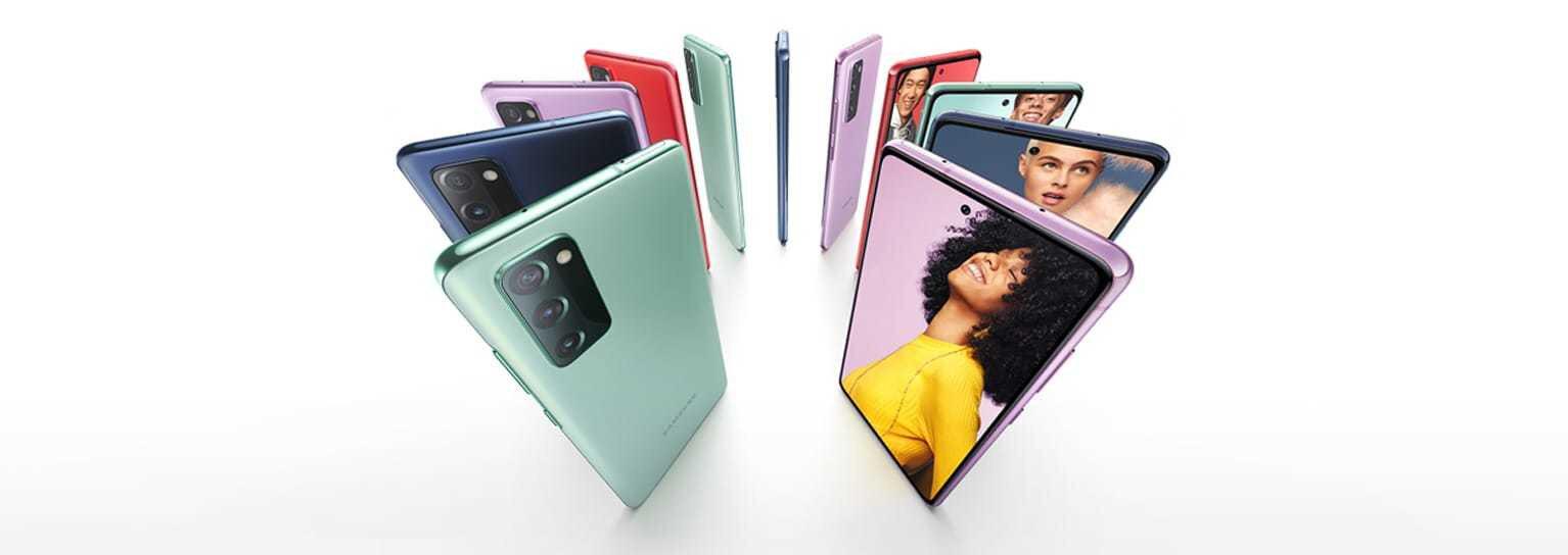 Samsung Galaxy S20 FE ekranındaki problemler bu güncelleme sonrasında ortadan kalkıyor.