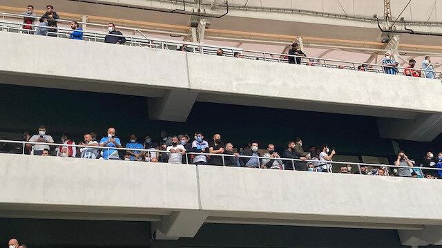 Adana Demirspor-GZT Giresunspor maçına 3 bin taraftar izinsiz olarak alındı