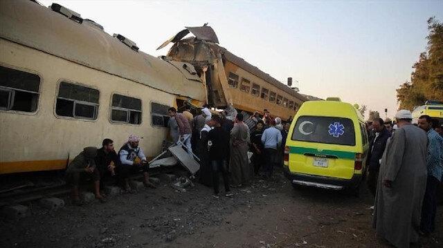 قتلى وجرحى جراء انقلاب قطار ركاب في مصر