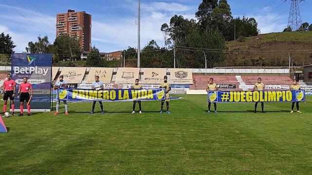 Kolombiya'da şaşırtan maç: 7 kişiyle sahaya çıktılar mücadeleyi tamamlayamadılar