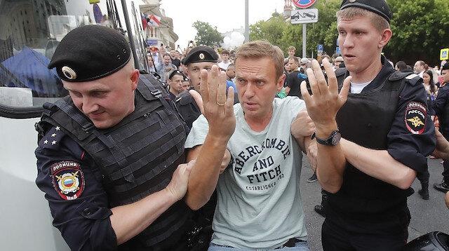 موسكو: وضع نافالني الصحي ليس من شأن الدول الأخرى