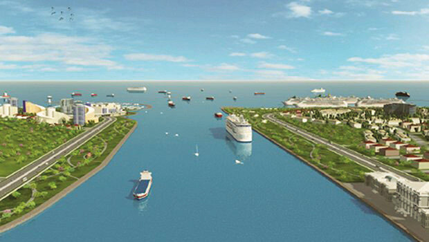 Türkiye tarihinin en büyük projelerinden biri olan Kanal İstanbul'da ilk kazma haziran ayında vurulacak.