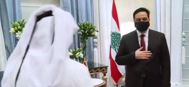 Lübnan Başbakanı Diyab, Katar'a ziyaret gerçekleştirdi.
