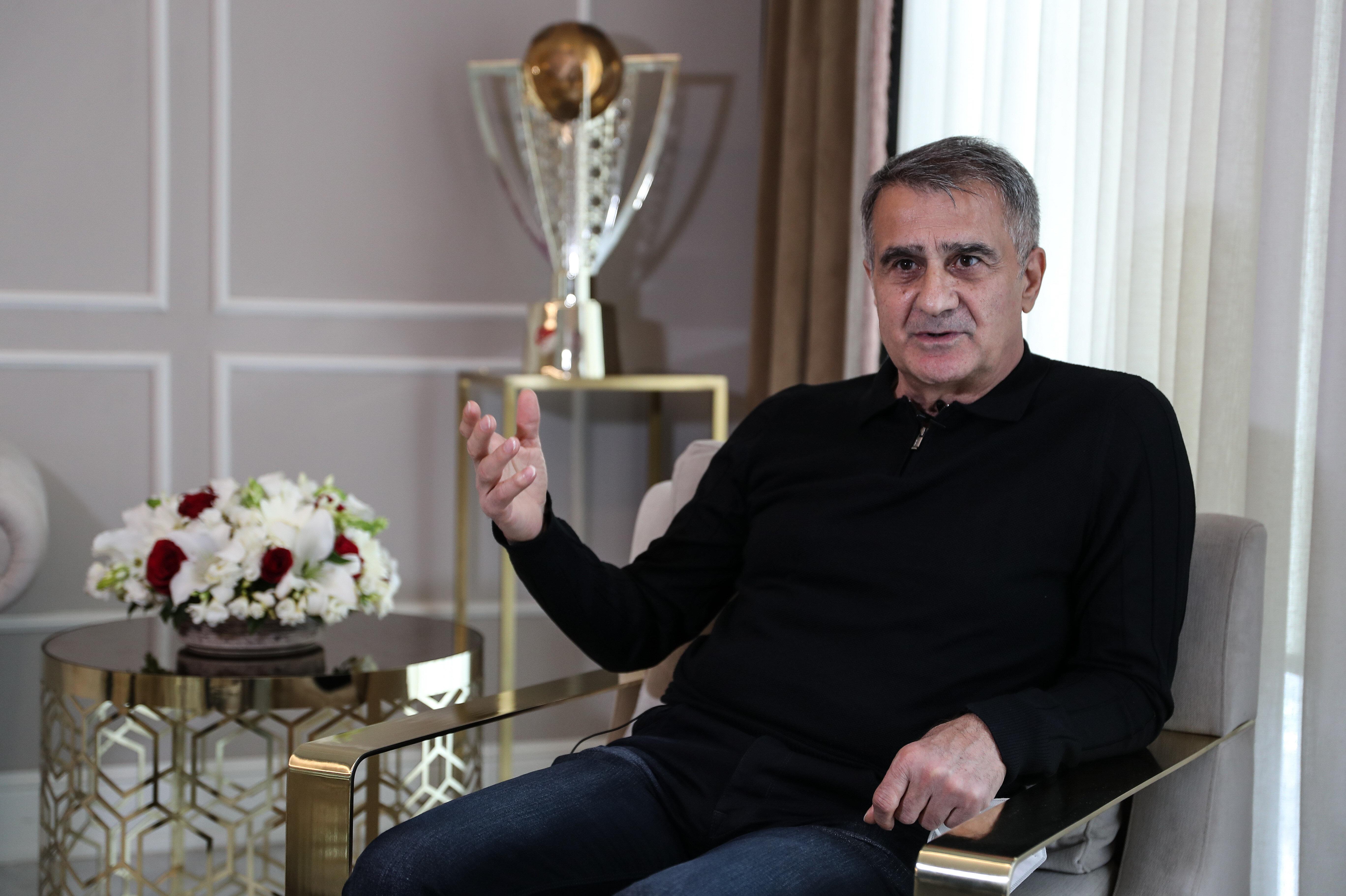 Şenol Güneş, hedefinin 2022 Dünya Kupası'na katılmak olduğunu söyledi.