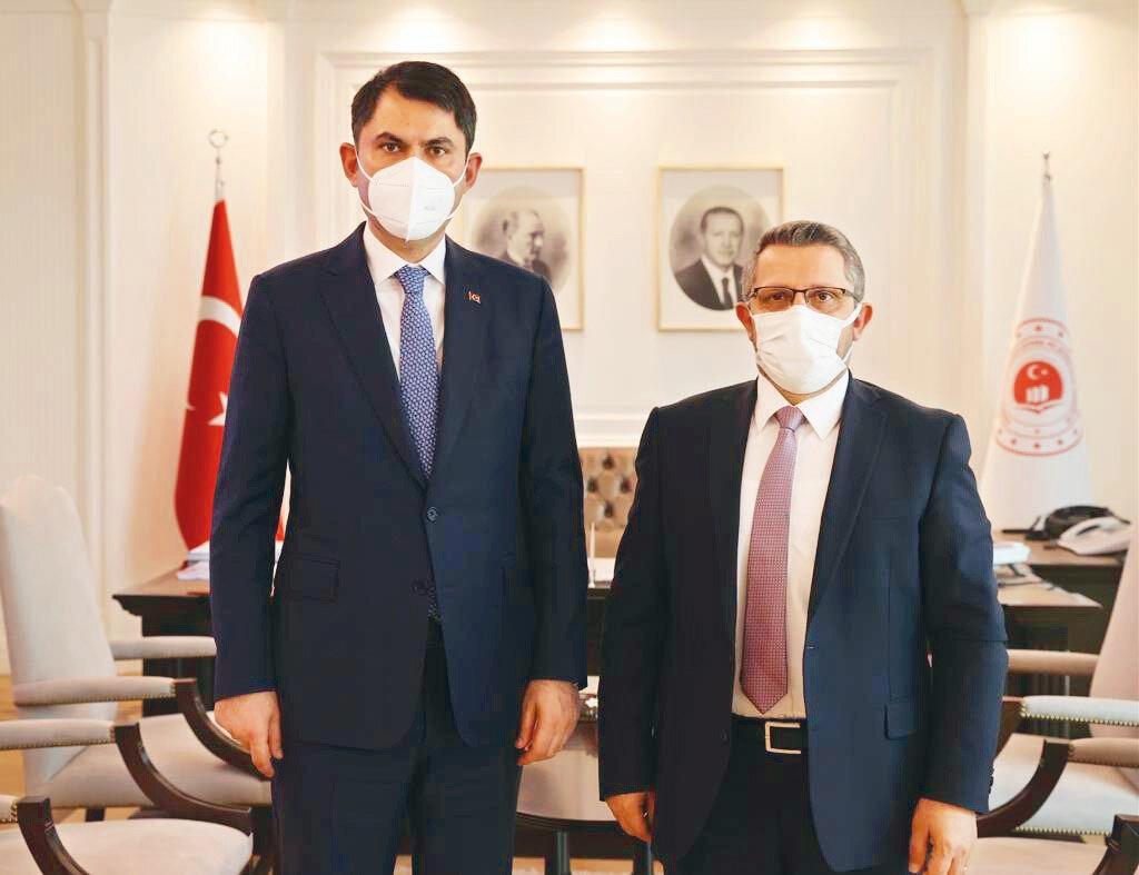 Çevre ve Şehircilik Bakanı Murat Kurum, Yeni Şafak Genel Yayın Yönetmeni Hüseyin Likoğlu'na çalışmalarını anlattı.