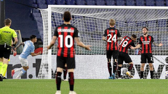 Lazio Milan'ı farklı yendi