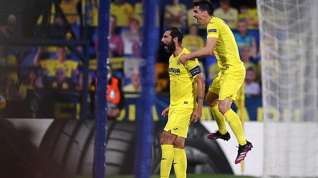 Emery'nin çalıştırdığı Villarreal Arsenal'i yıktı