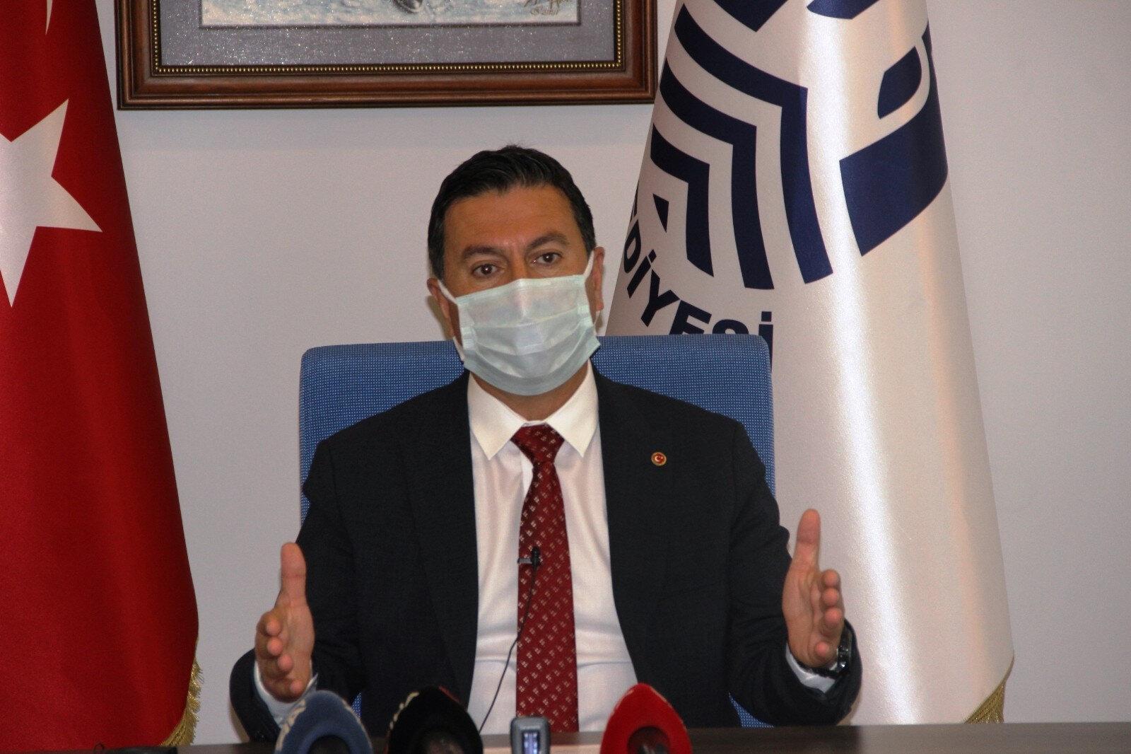 Bodrum Belediye Başkanı Ahmet Aras.