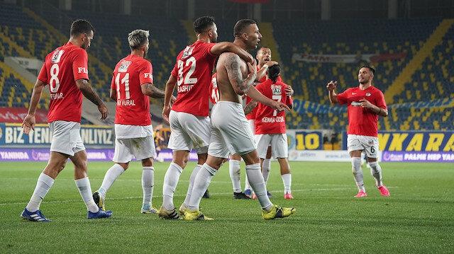 Gaziantep FK deplasmanda galibiyeti hatırladı
