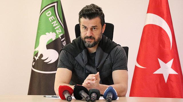 Denizlispor Teknik Direktörü Ali Tandoğan: Asıl bu sene takımların ligde tutulması gerekiyor