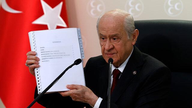 """""""الحركة القومية"""" التركي يعلن عن مقترح لدستور جديد"""