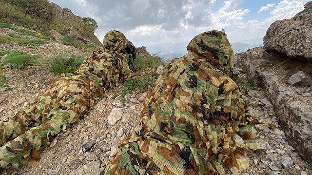 تركيا تنشر مشاهد من عملياتها العسكرية ضد الإرهابيين شمال العراق