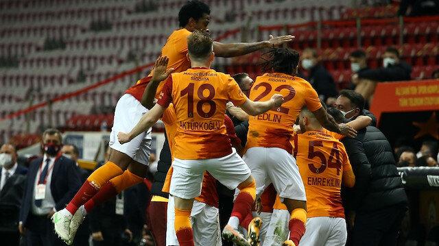Galatasaray derbiyi kazandı: Süper Lig'de şampiyonluk yarışı kızıştı