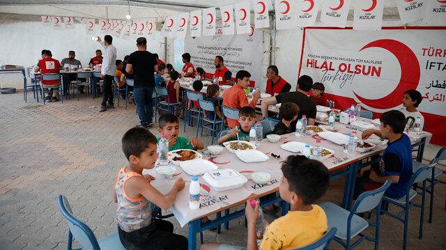 Mesut Özil Suriyeli yetimleri unutmadı