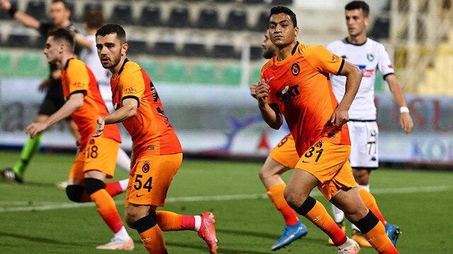 Galatasaray Denizli'de kazandı: Aslan şampiyonluk umudunu korudu