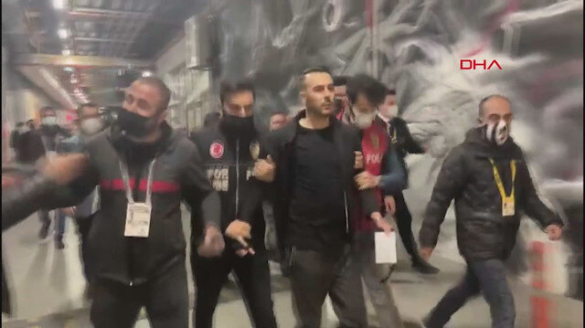 Karagümrük maçı sonrasında Ghezzal'ın menajeri gözaltına alındı