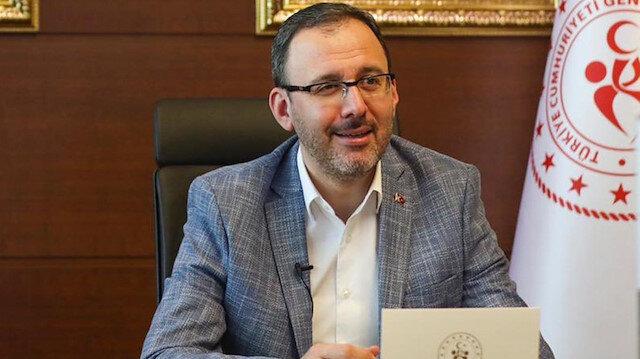 Bakan Kasapoğlu'ndan Beşiktaş'a tebrik mesajı