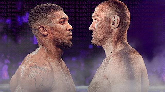 Joshua ile Fury Suudi Arabistan'da ringe çıkacak