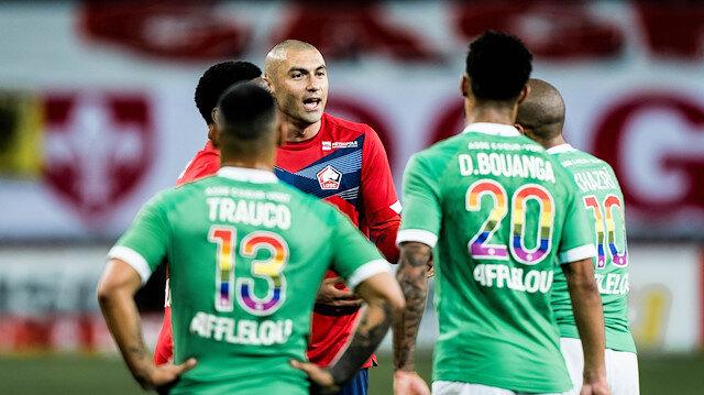 Yusuf Yazıcı'nın şutu direkten döndü: Lille şampiyonluğu son haftaya bıraktı