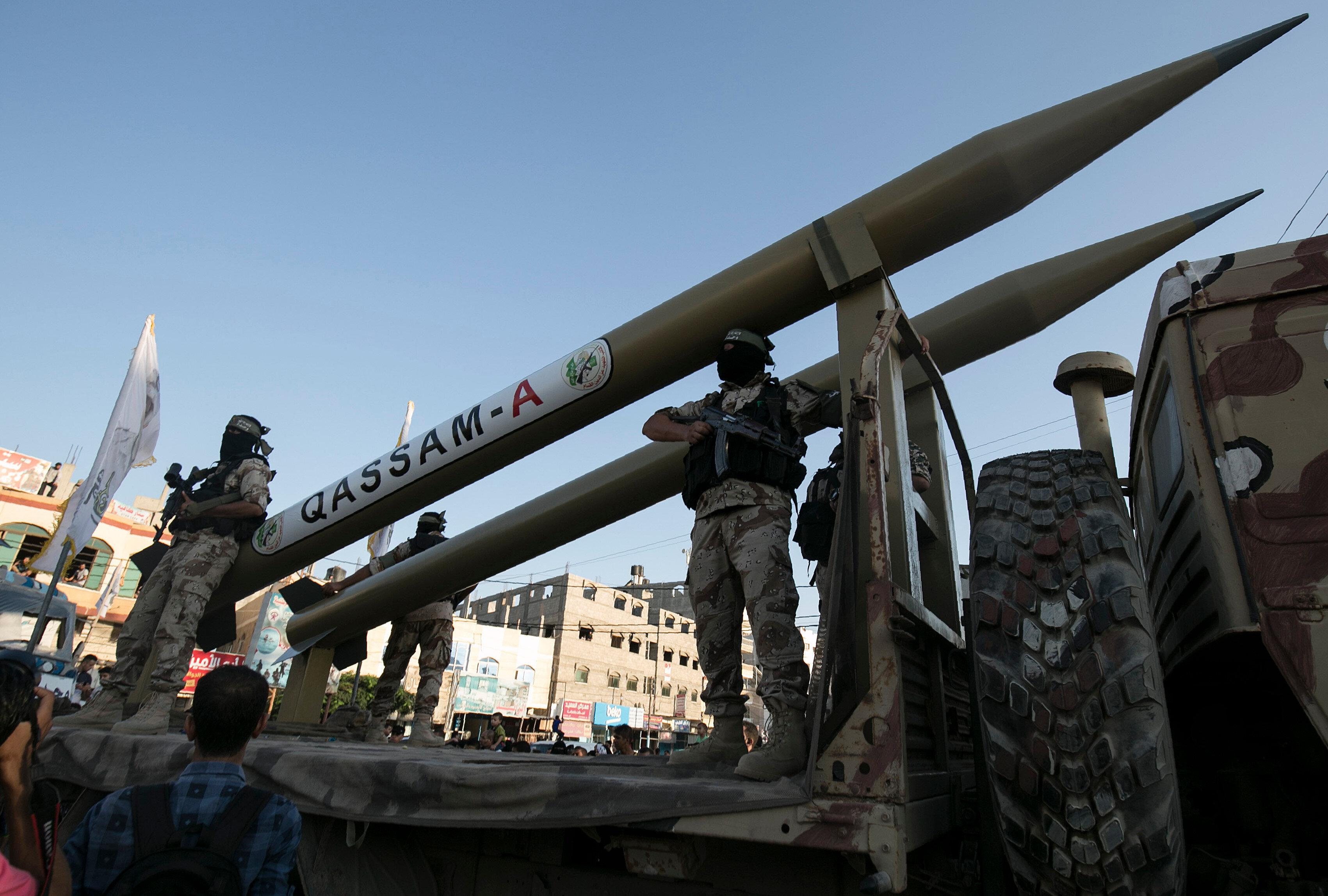 Sinvar, olası çatışmalar için Hamas'ın yeterli düzeyde bir askeri mühimmata sahip olduğunu belirtti.