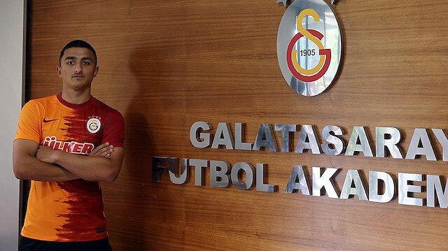 Galatasaray'dan Mahmut Keskin'e profesyonel sözleşme